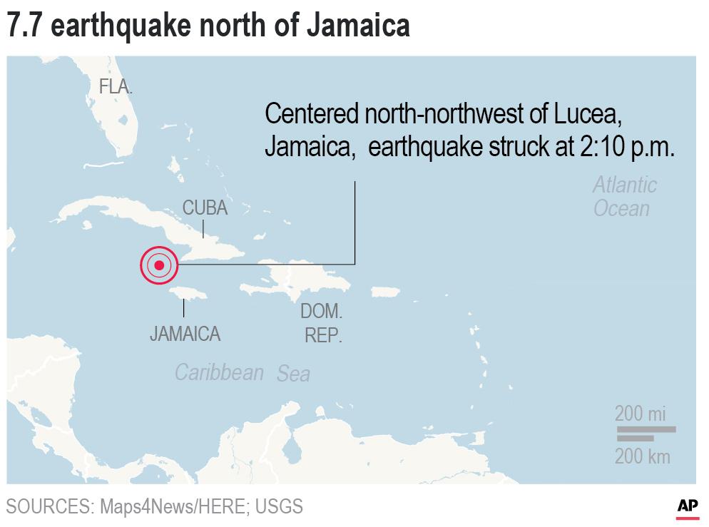 Caribbean Earthquake