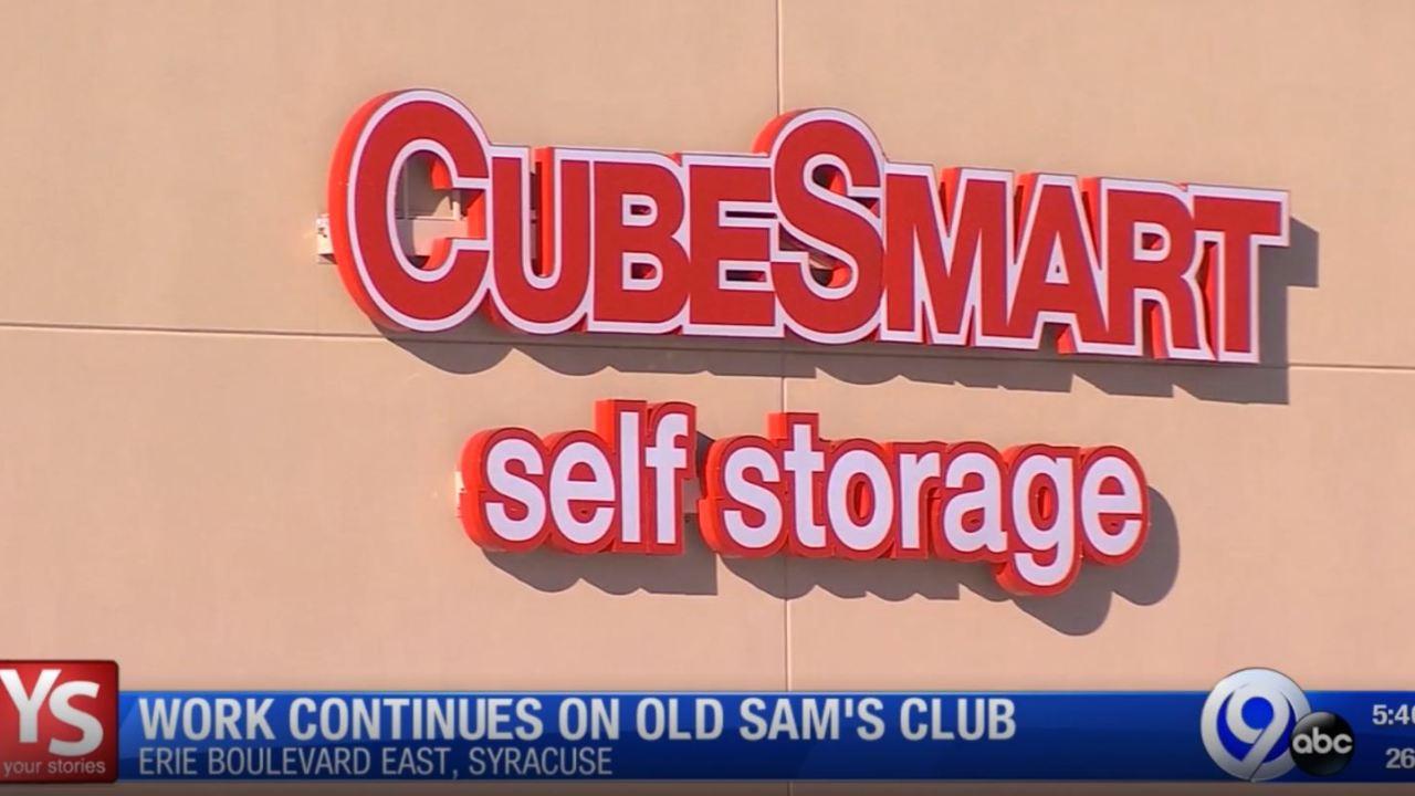 Cubesmart Self Storage To Take Over Old Sam S Club