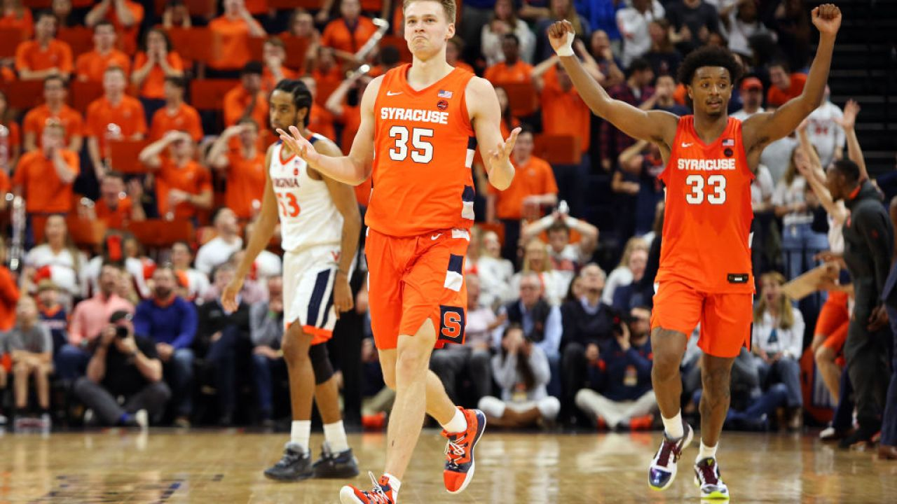 Syracuse Sophomore Buddy Boeheim Honored As The Acc Co