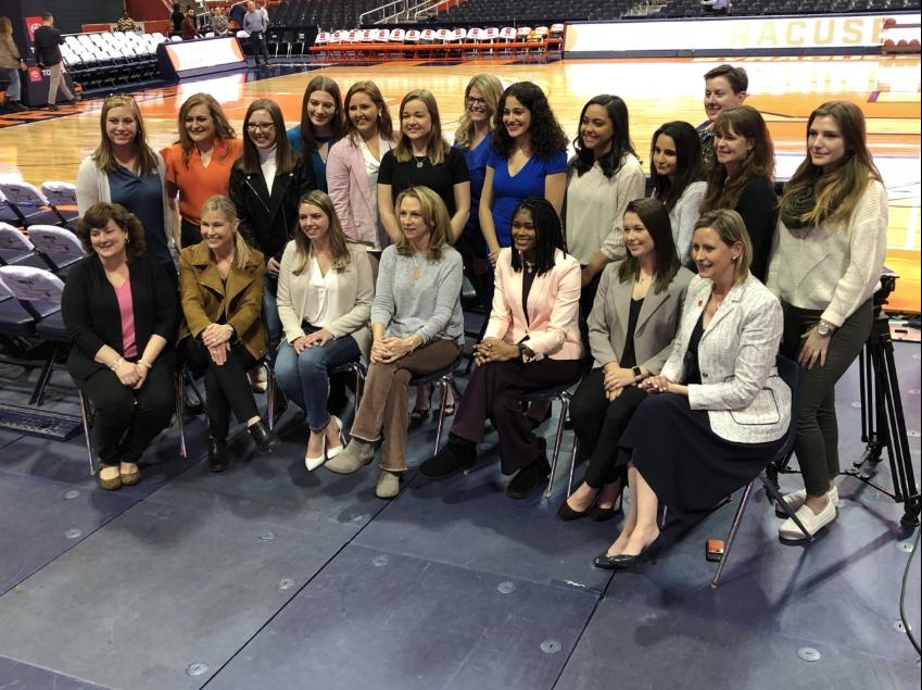 Su S Female Led Basketball Broadcast Team Breaking Ground On