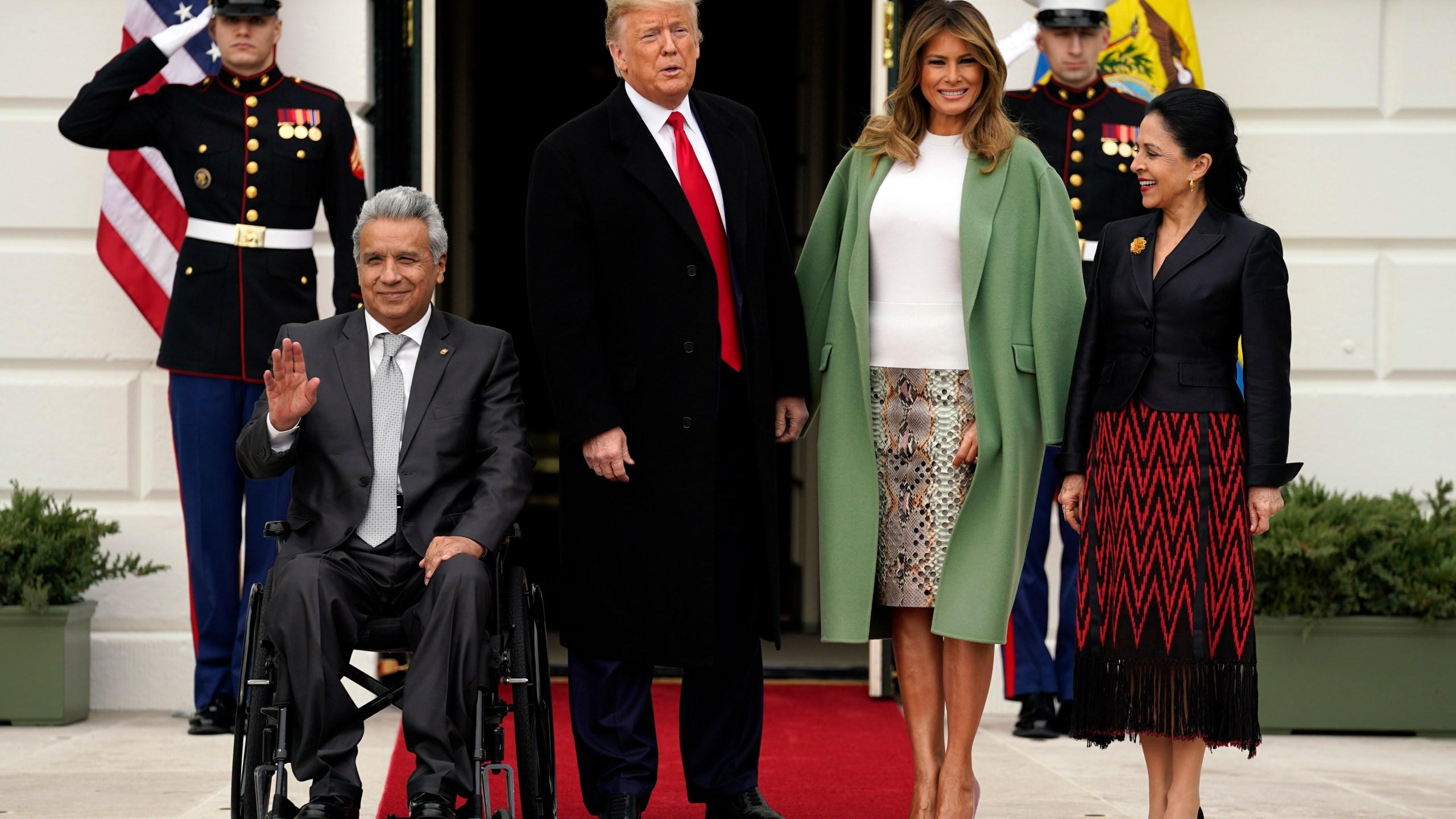 Donald Trump Lenin Moreno