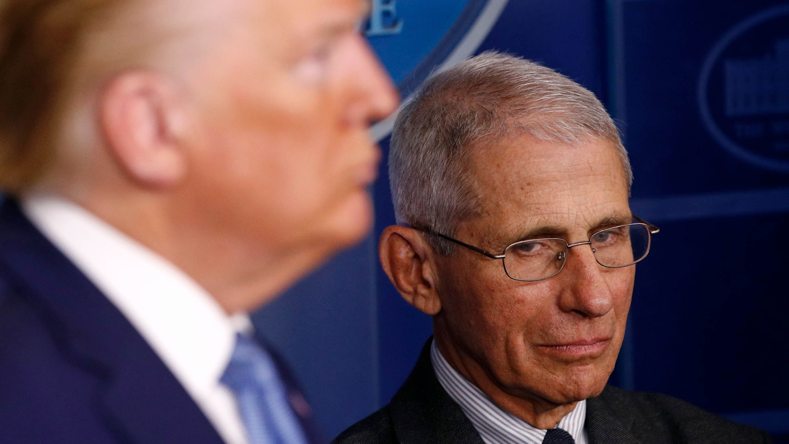 Donald Trump, Anthony Fauci