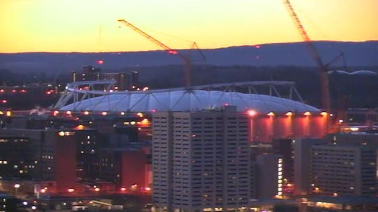 Watch the Carrier Dome roof as it is deflated for final time (video)