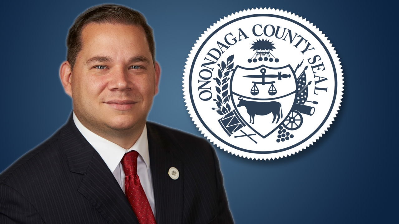 Ryan McMahon and Onondaga County Seal