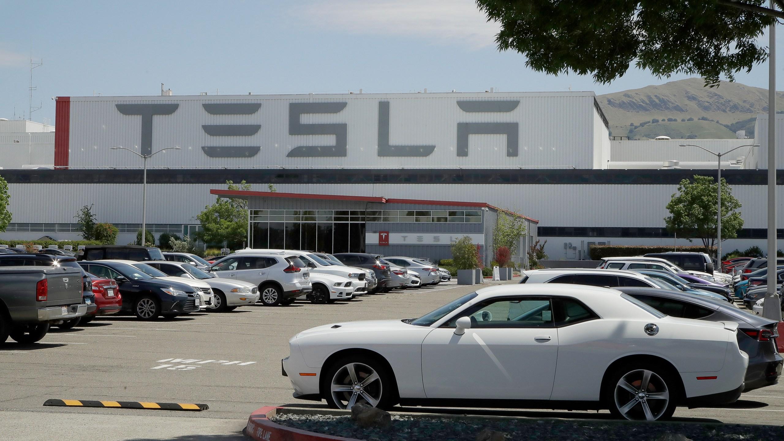 Tesla Electric Car Plant