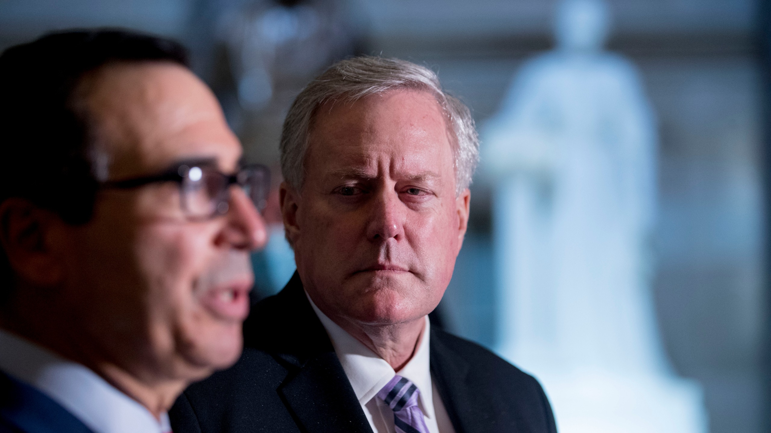 Steven Mnuchin, Mark Meadows