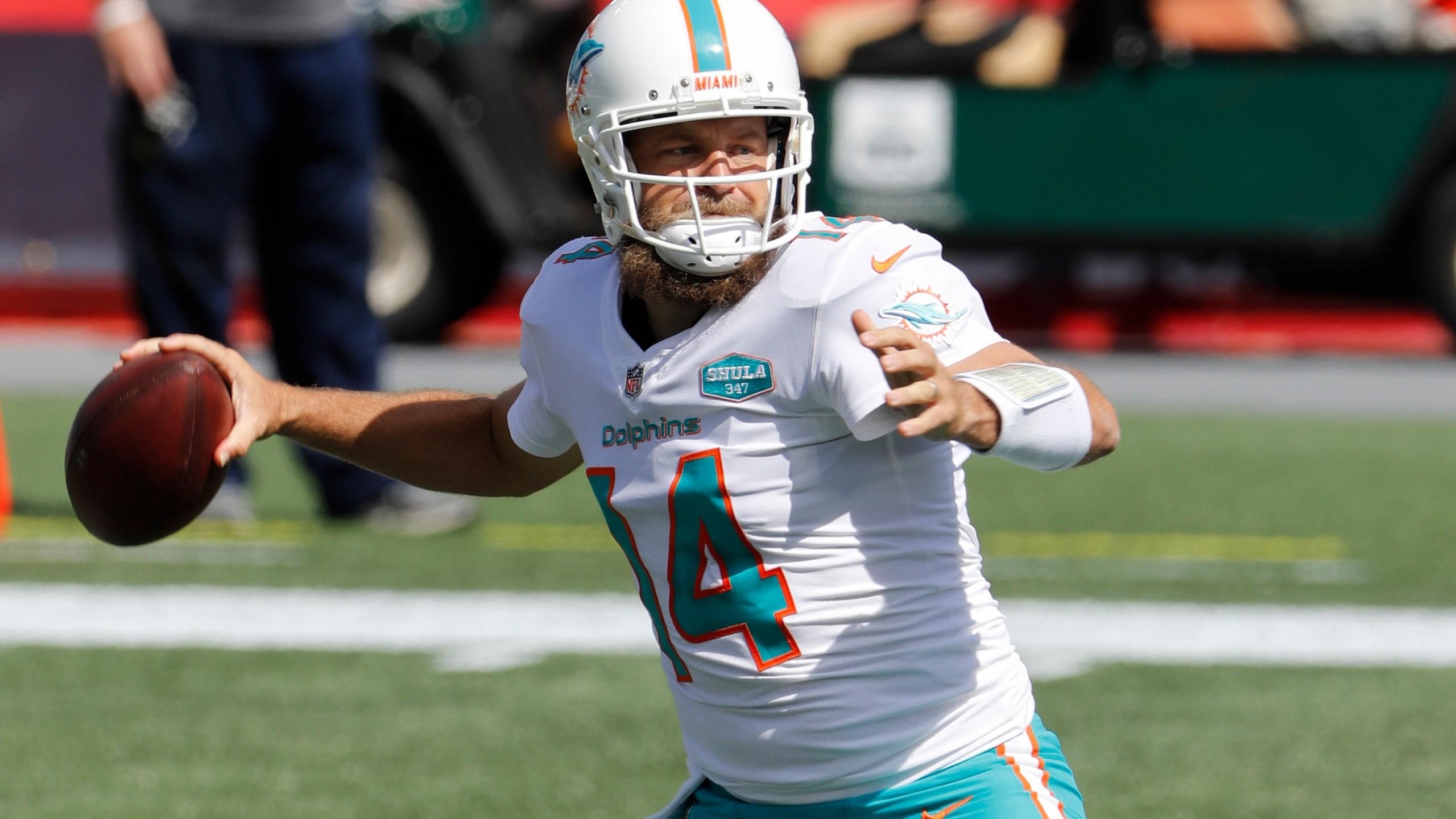 Patriots QB rumors: Ryan Fitzpatrick says hes open to