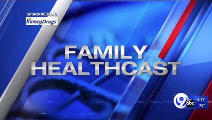 Family healthcast graphic