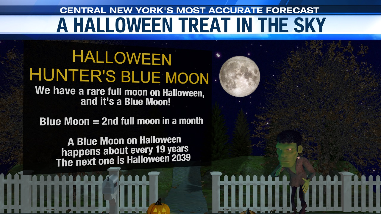 A Rare Blue Moon Is This Year S Halloween Treat Wsyr
