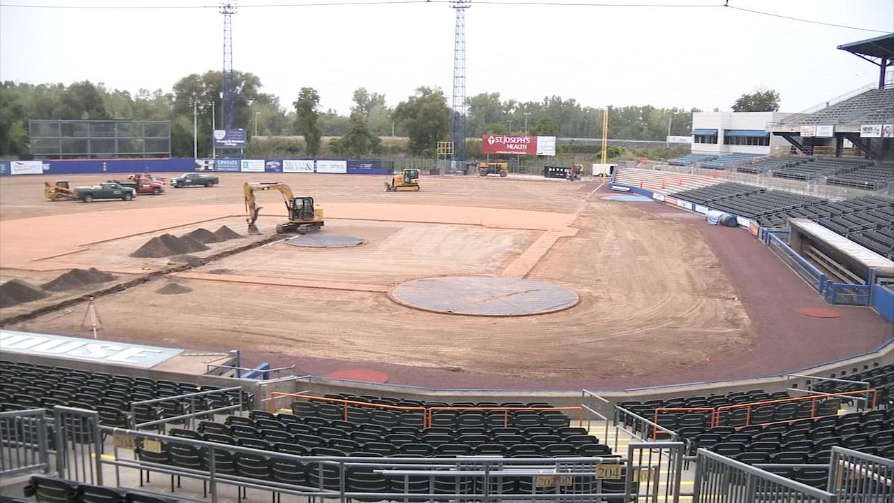 NBT Bank Stadium undergoing huge renovations