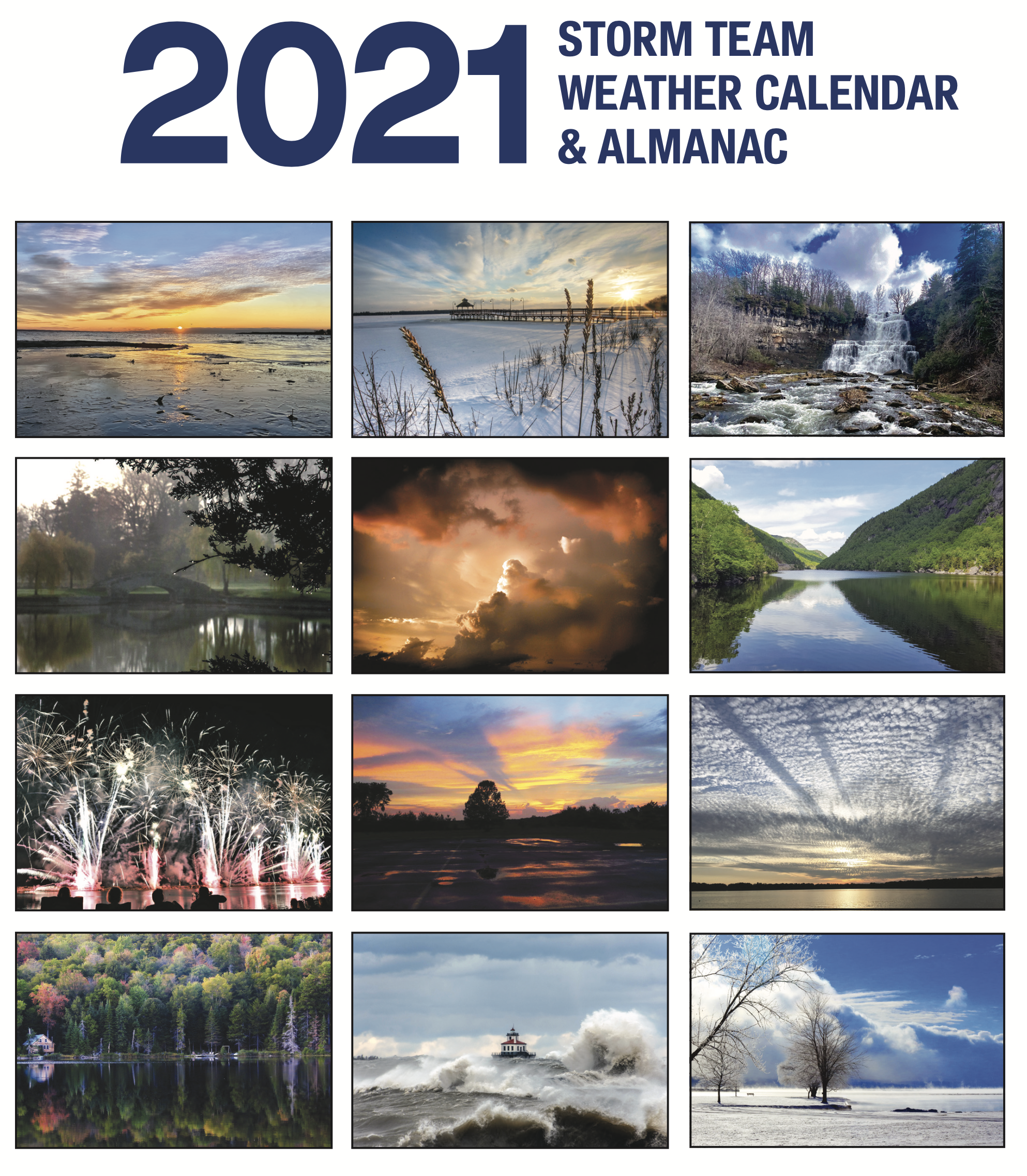 Purchase Calendar 2021 2021 Storm Team Calendar | WSYR