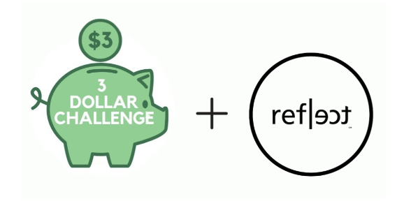 Syracuse University student and twin sister launch '3 Dollar Challenge'