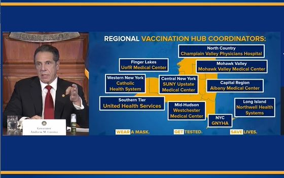New York Creates New Website For Covid 19 Vaccine Information