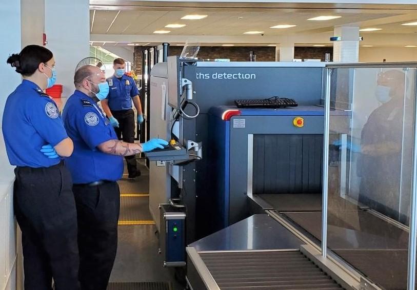 TSA at Syracuse Airport