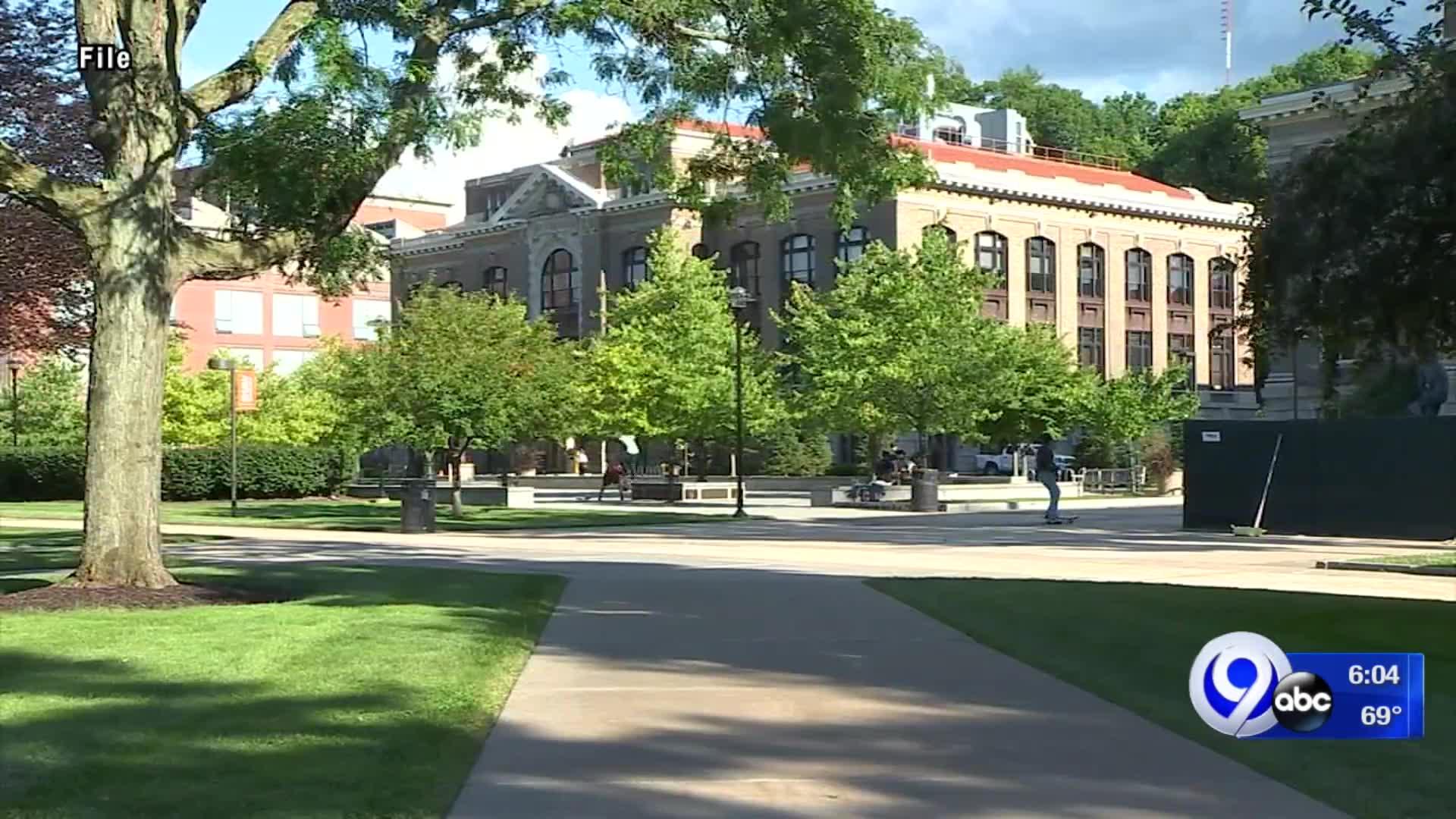 Syracuse University campus