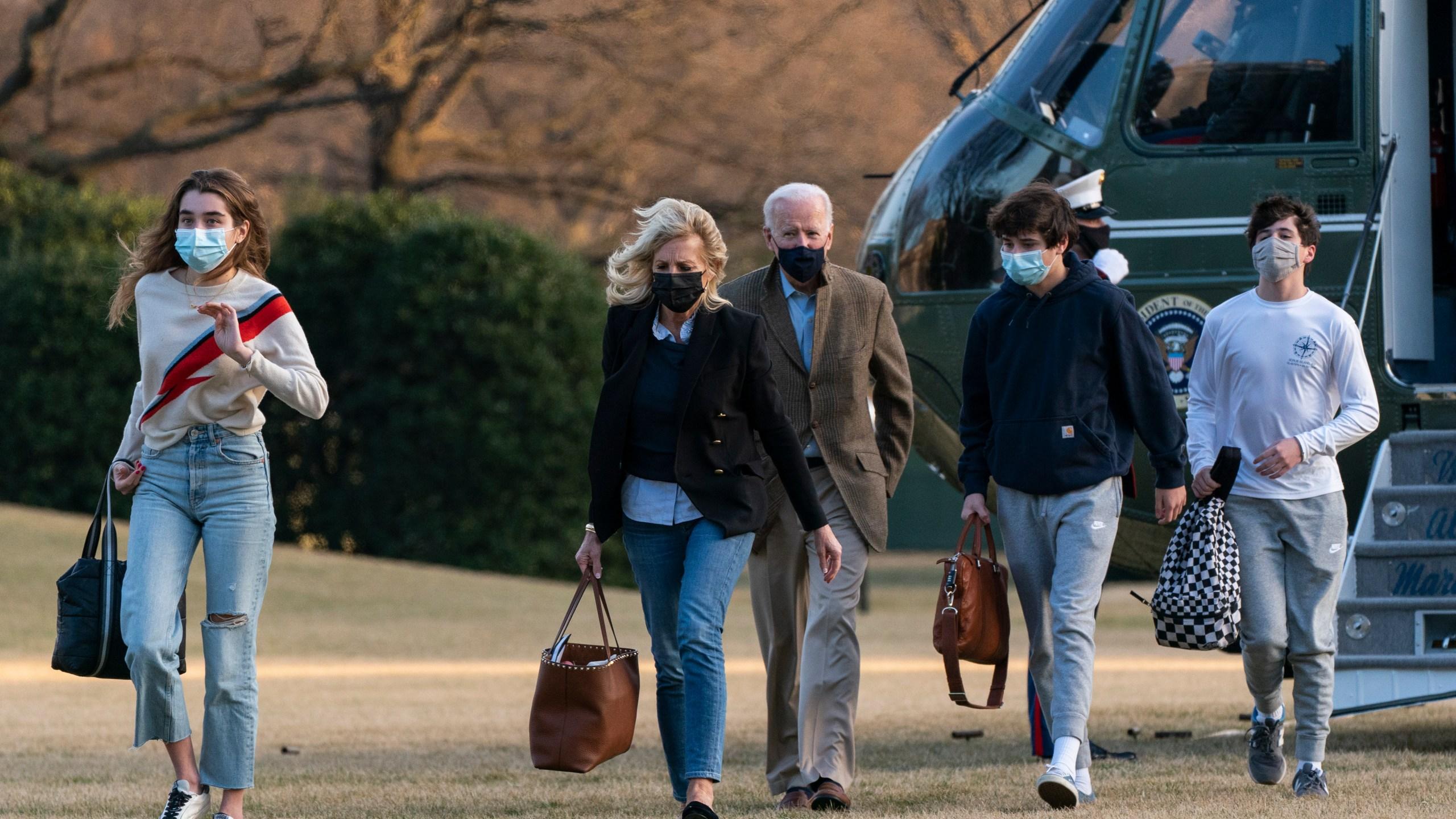 Joe Biden, Jill Biden, Natalie Biden, Hunter Biden