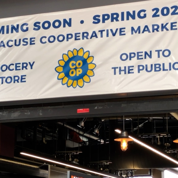 Syracuse Cooperative Market Sign