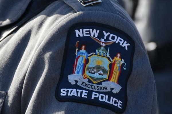state police officer badge