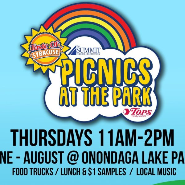 picnics at the park poster